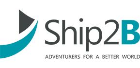 logotipo de ship2B